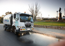 Residential street sweeping - Montefiore Hill, Adelaide